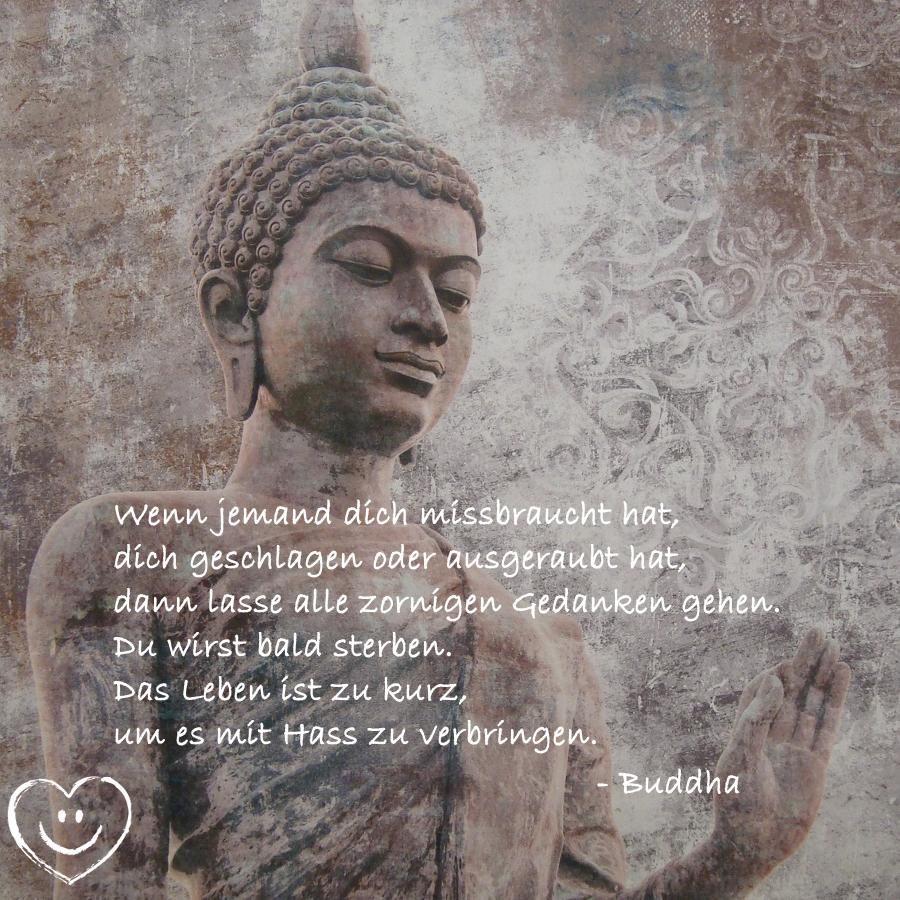 Flamm Buddha Vergebung