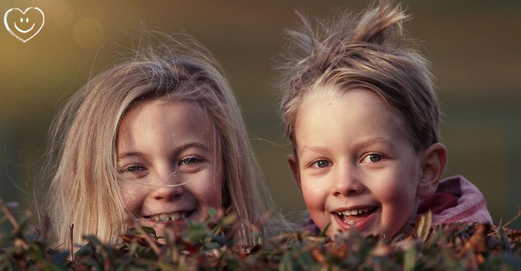 Flamm Lachen Kinder