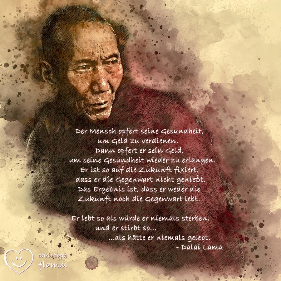 Flamm Entspannung Dalai Lama