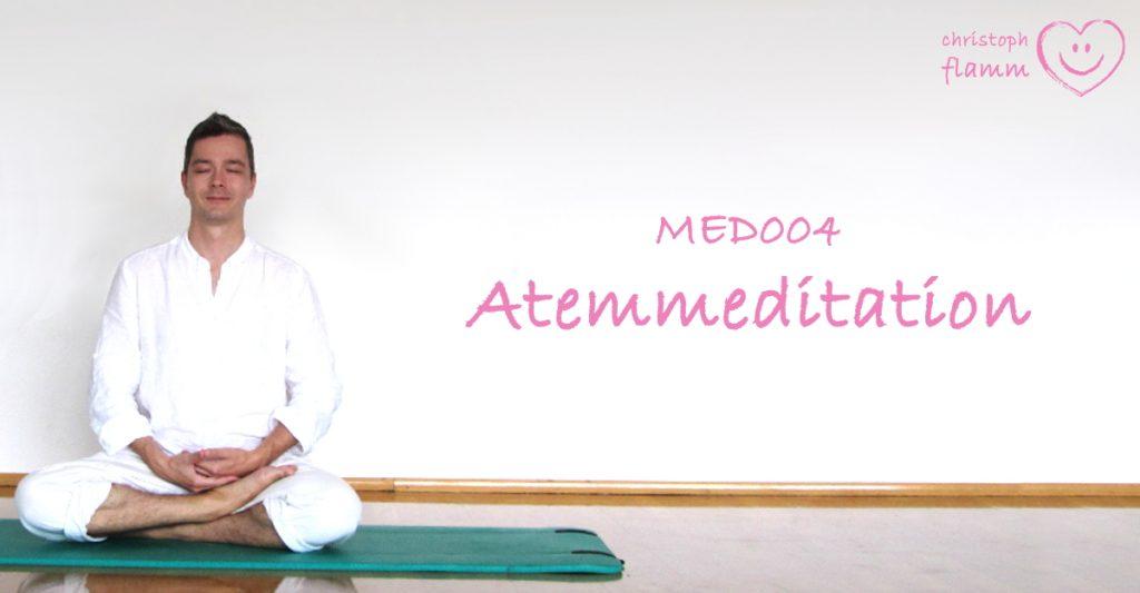 Flamm MED004 Atemmeditation Titel